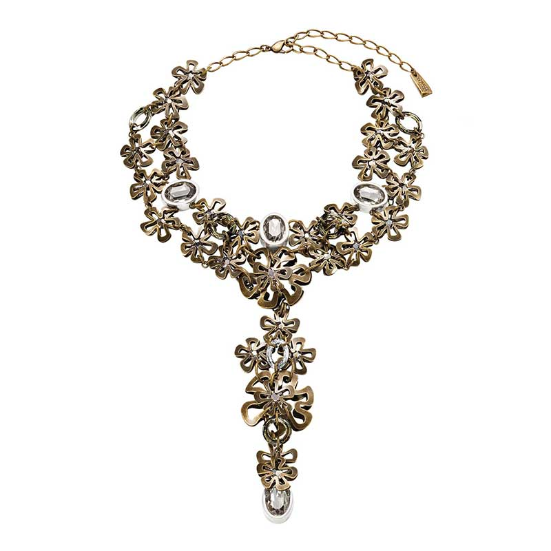 autumn leaves collier