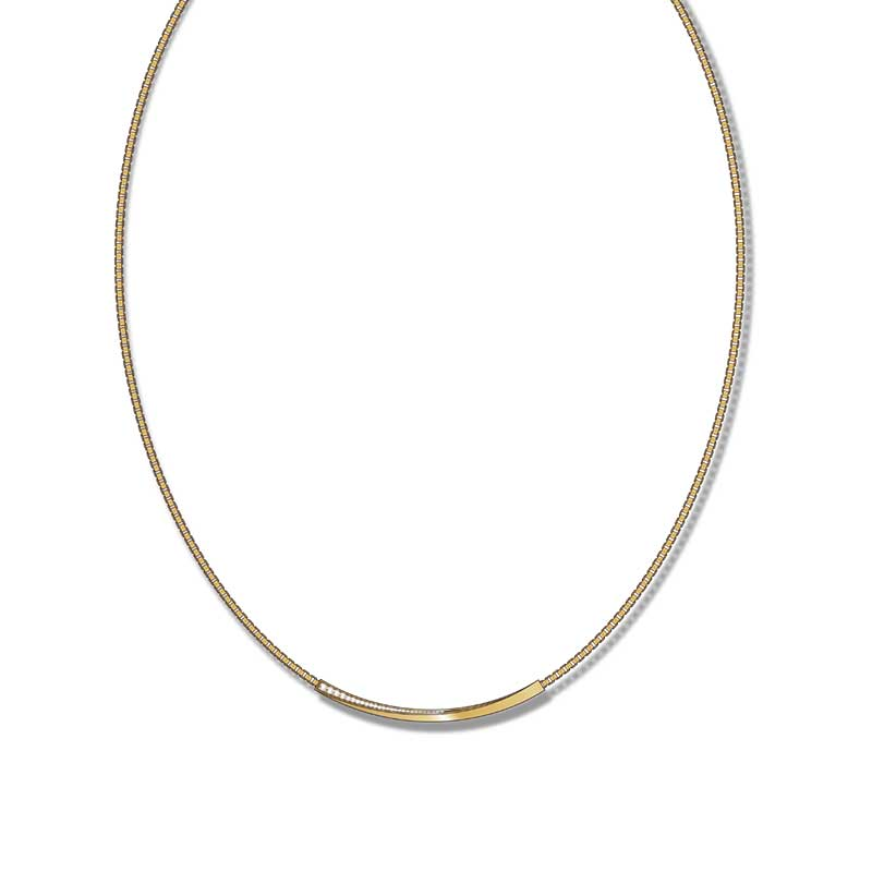 twisted goldcollier